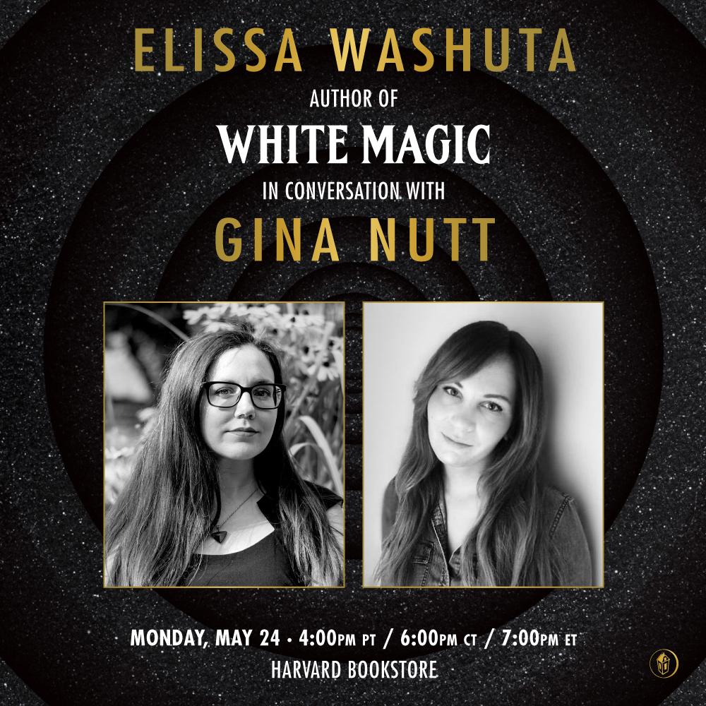 authors Gina Nutt and Elissa Washuta Harvard Book Store (Cambridge, MA)